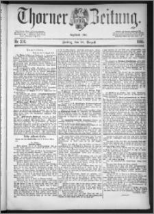 Thorner Zeitung 1885, Nro. 200