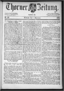 Thorner Zeitung 1885, Nro. 210