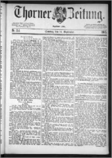 Thorner Zeitung 1885, Nro. 214 + Beilage