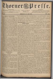 Thorner Presse 1889, Jg. VII, Nro. 140 + Rundschau no. 3