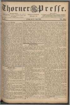 Thorner Presse 1889, Jg. VII, Nro. 142