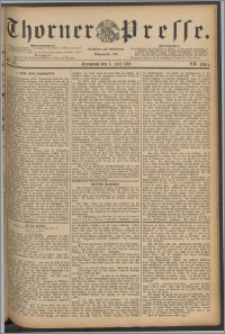 Thorner Presse 1889, Jg. VII, Nro. 155