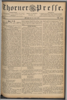 Thorner Presse 1889, Jg. VII, Nro. 170