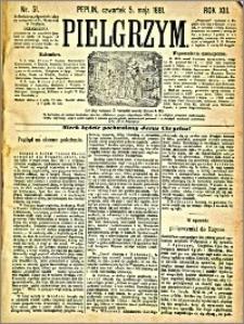 Pielgrzym, pismo religijne dla ludu 1881 nr 51