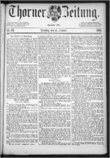 Thorner Zeitung 1885, Nro. 251