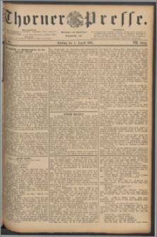 Thorner Presse 1889, Jg. VII, Nro. 180 + Beilage