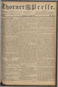 Thorner Presse 1889, Jg. VII, Nro. 186 + Beilage
