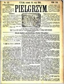 Pielgrzym, pismo religijne dla ludu 1881 nr 53