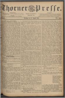 Thorner Presse 1889, Jg. VII, Nro. 187