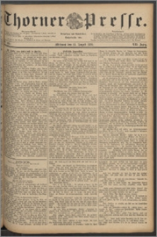 Thorner Presse 1889, Jg. VII, Nro. 188