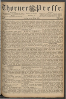Thorner Presse 1889, Jg. VII, Nro. 190