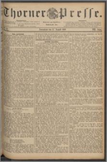 Thorner Presse 1889, Jg. VII, Nro. 191