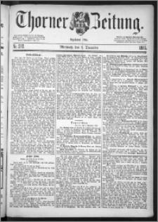 Thorner Zeitung 1885, Nro. 282
