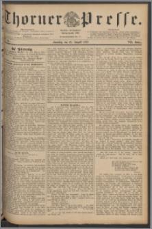 Thorner Presse 1889, Jg. VII, Nro. 198 + Beilage
