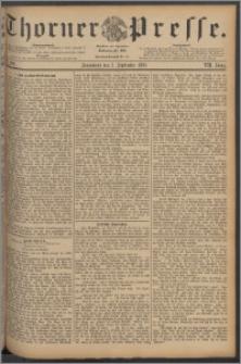 Thorner Presse 1889, Jg. VII, Nro. 209