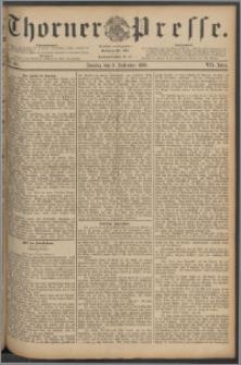 Thorner Presse 1889, Jg. VII, Nro. 210 + Beilage