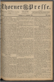 Thorner Presse 1889, Jg. VII, Nro. 216 + Beilage