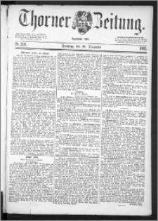 Thorner Zeitung 1885, Nro. 298 + Beilage, 2. Beilage