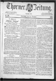 Thorner Zeitung 1885, Nro. 301