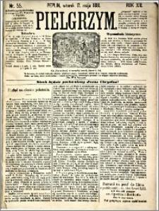 Pielgrzym, pismo religijne dla ludu 1881 nr 55