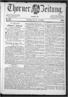 Thorner Zeitung 1885, Nro. 303