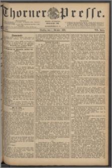 Thorner Presse 1889, Jg. VII, Nro. 229