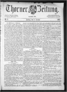 Thorner Zeitung 1886, Nro. 6
