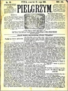 Pielgrzym, pismo religijne dla ludu 1881 nr 56