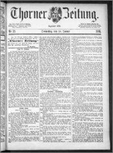 Thorner Zeitung 1886, Nro. 23