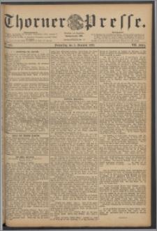 Thorner Presse 1889, Jg. VII, Nro. 285 + Beilage