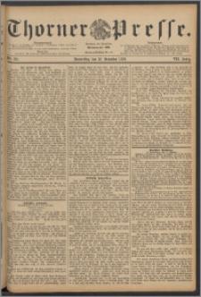 Thorner Presse 1889, Jg. VII, Nro. 291 + Beilage
