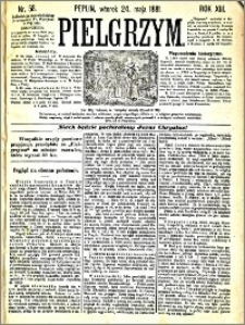 Pielgrzym, pismo religijne dla ludu 1881 nr 58