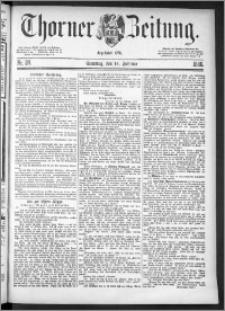 Thorner Zeitung 1886, Nro. 38