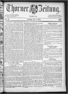 Thorner Zeitung 1886, Nro. 51