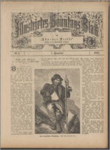 Illustrirtes Sonntags Blatt 1887, 1 Quartal, nr 5