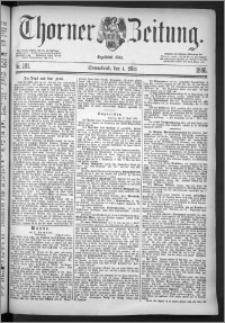 Thorner Zeitung 1886, Nro. 101