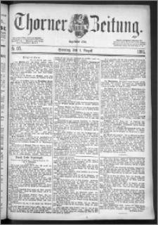 Thorner Zeitung 1886, Nro. 177