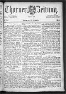 Thorner Zeitung 1886, Nro. 205