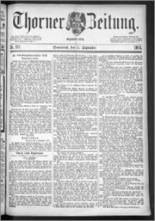 Thorner Zeitung 1886, Nro. 212