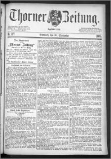 Thorner Zeitung 1886, Nro. 227