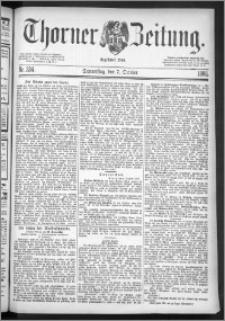 Thorner Zeitung 1886, Nro. 234