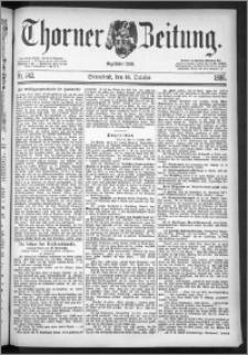 Thorner Zeitung 1886, Nro. 242