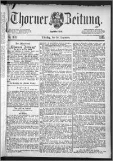 Thorner Zeitung 1886, Nro. 303