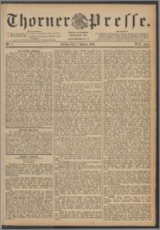 Thorner Presse 1890, Jg. VIII, Nro. 2