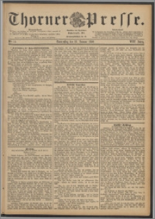 Thorner Presse 1890, Jg. VIII, Nro. 19