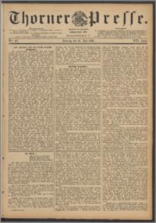 Thorner Presse 1890, Jg. VIII, Nro. 161 + Beilage, Beilagenwerbung