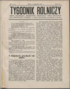 Tygodnik Rolniczy 1931, R. 15 nr 3/4