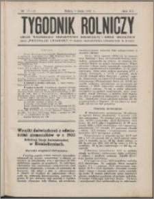 Tygodnik Rolniczy 1931, R. 15 nr 17/18