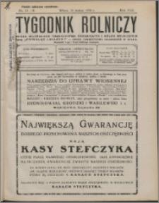 Tygodnik Rolniczy 1932, R. 16 nr 11/12