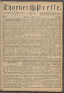 Thorner Presse 1890, Jg. VIII, Nro. 264